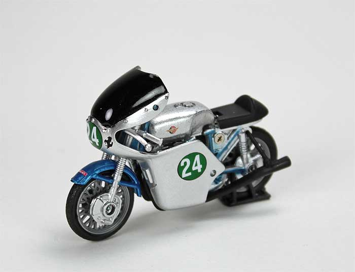 Ducati 250 Bicilindrico (1960) in Silver