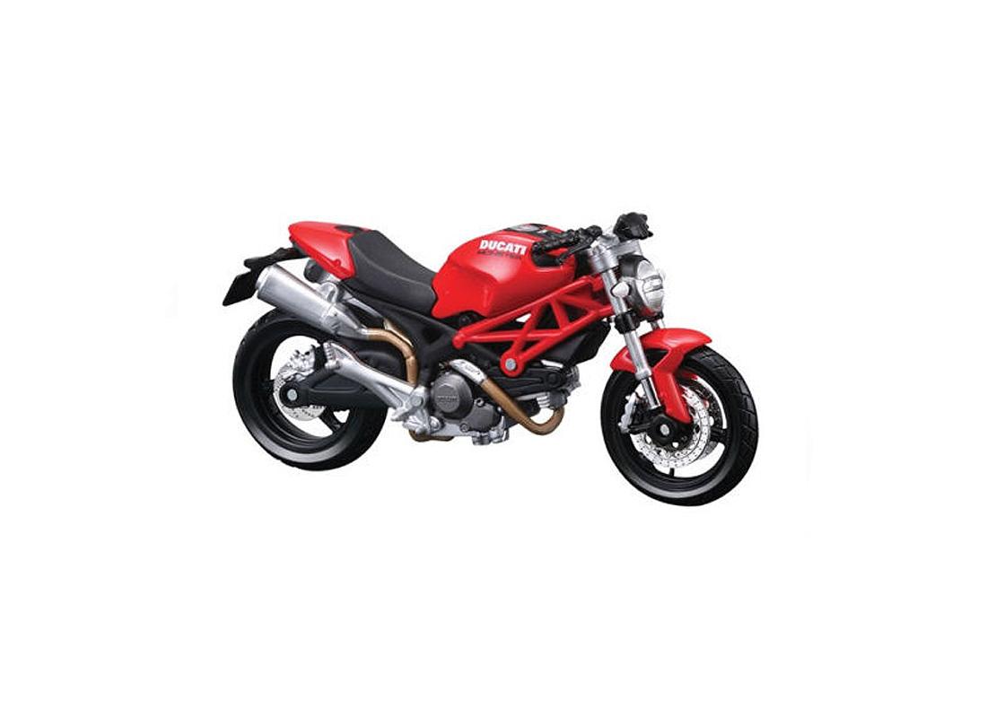 Ducati Monster 696 [Kit] in Red