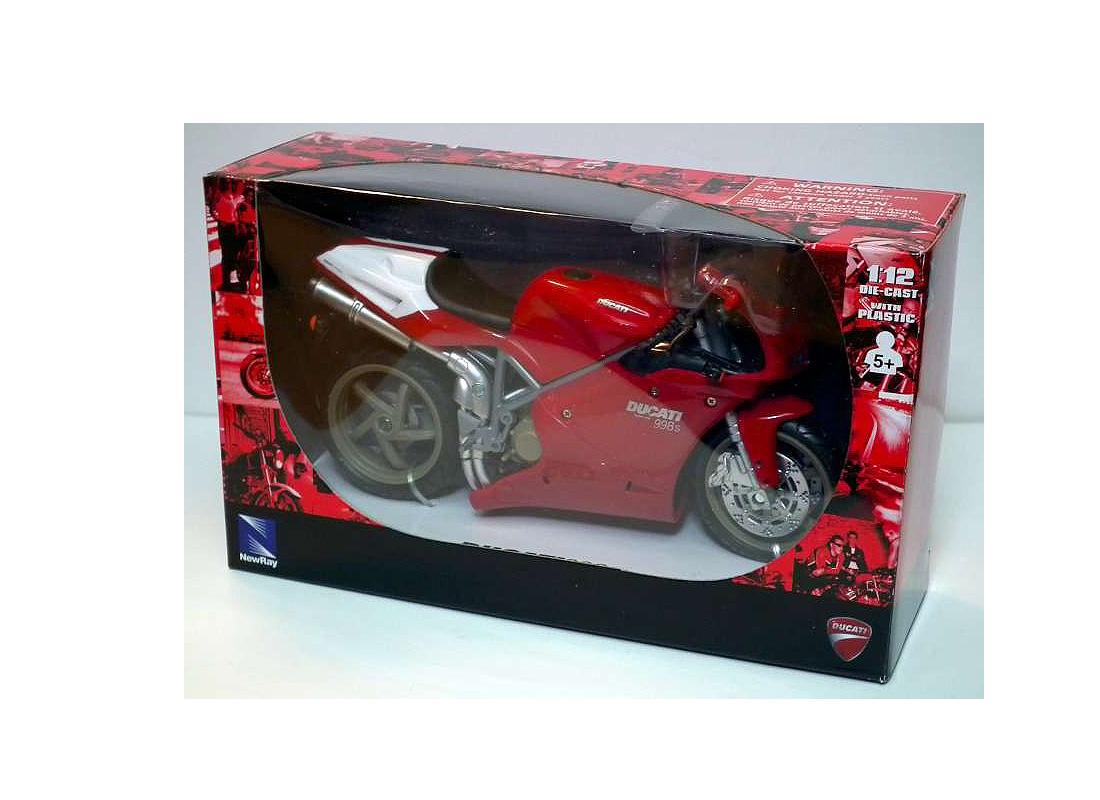 Ducati 998S in Red