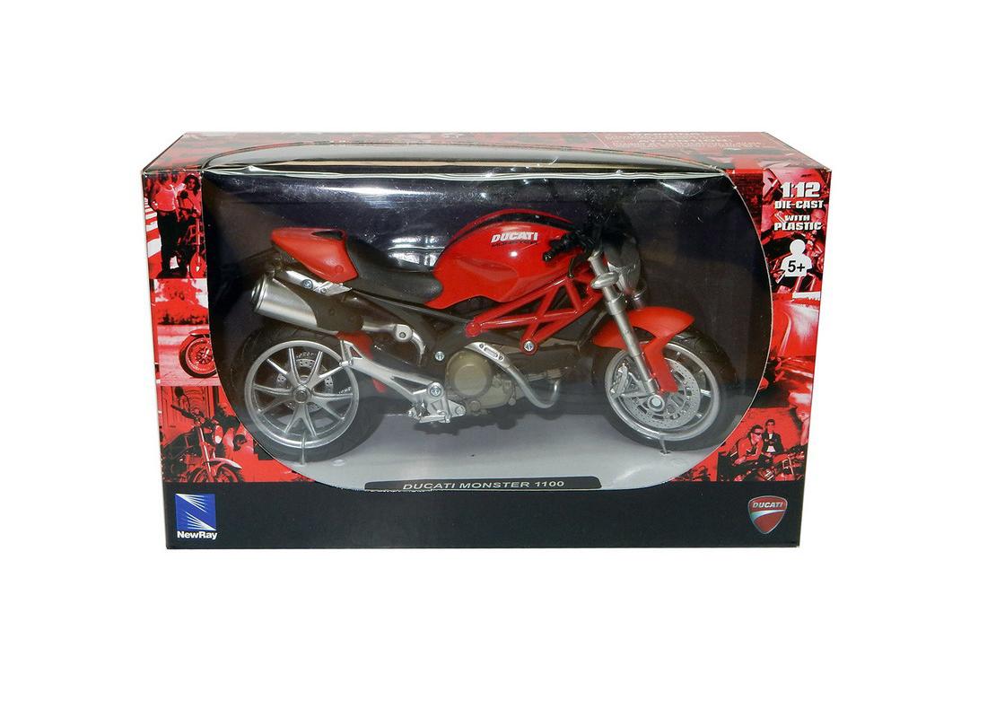 Ducati Monster 1100 in Red