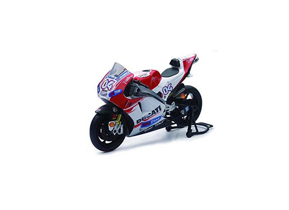 Ducati Desmosedici Number 4 Andrea Dovizioso (Moto GP 2015) in Red and White