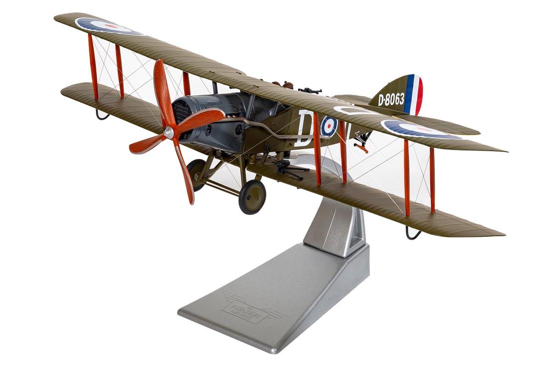 Aircraft Bristol F2B Fighter D-8063 RAF No .139 (Squadron Villaverla Italy Sept 1918) in Green