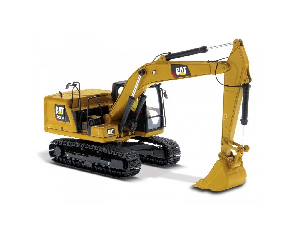 CAT 320 GC Hydraulic Excavator in Yellow