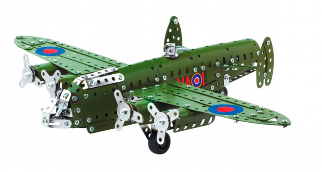 Aircraft Avro Lancaster Bomber (Construction Model 1943) Metal Assembly Airplane Kit