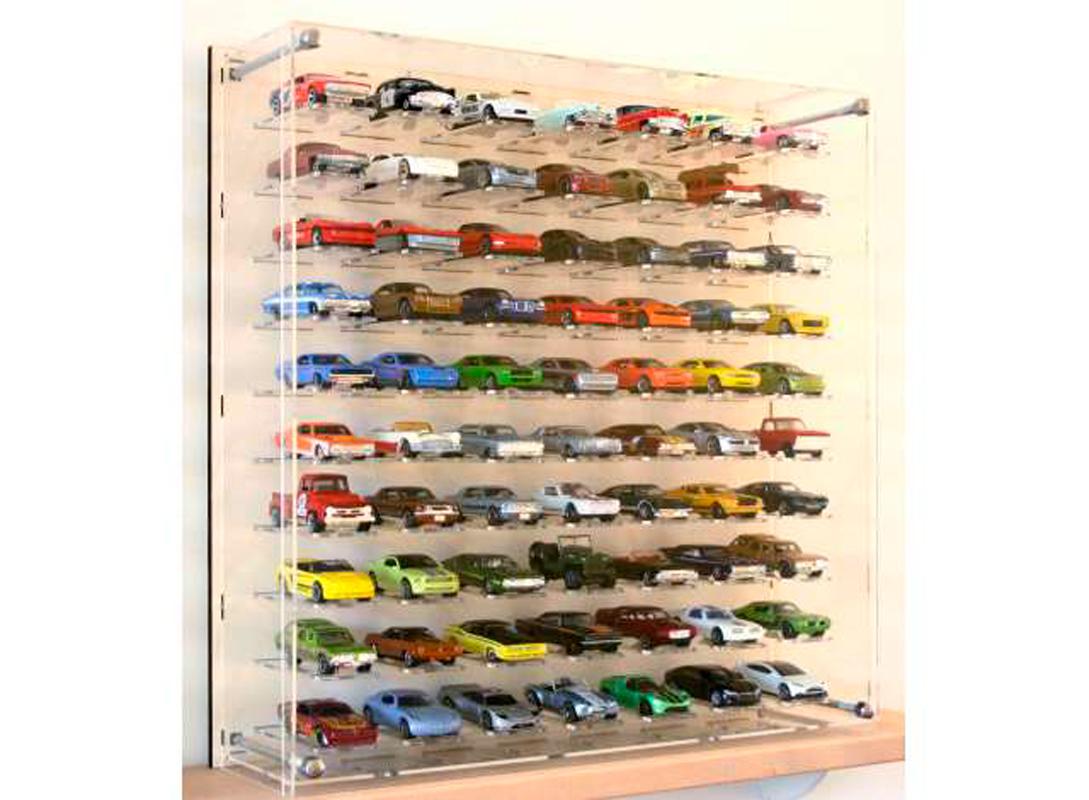 70 Car Display Case