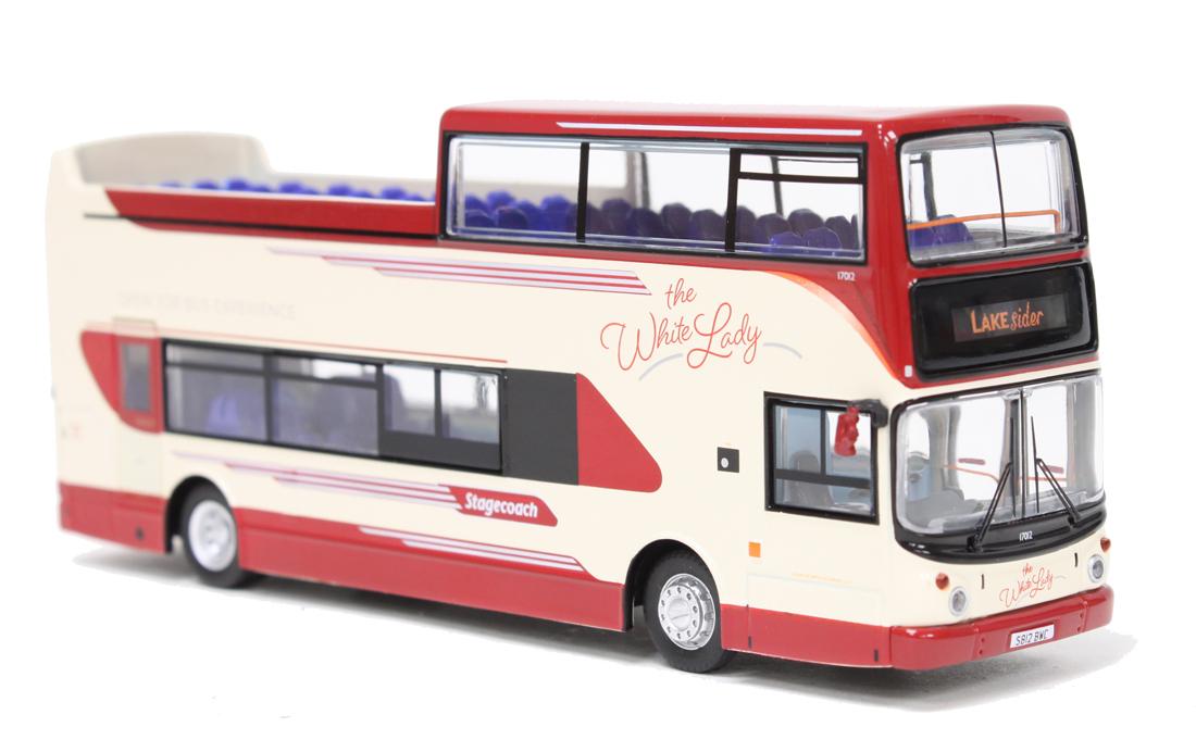 Vehicles Alexander ALX400 Dennis Trident North West (The White Lady) Diecast Model